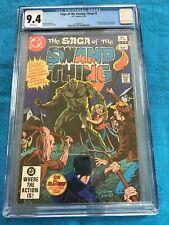 Saga of the Swamp Thing #1 - DC - CGC 9.4 NM