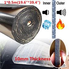 New 1× 0.5m 10mm Car Sound Deadener Heat Insulation Deadening Noise Material Mat