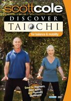 Scott Cole: Discover Tai Chi for Balance and Mobility DVD NEW