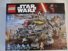 75157 LEGO Star Wars Captain Rex's AT-TE 972 Pieces 5 Mini Figures Sealed New