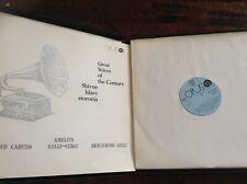 E. Caruso, B.Gigli, A. Galli-Curci .Great Voiles o.t. Century 3 LP OPUS 1976