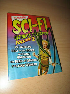 THE CLASSIC SCI-FI ULTIMATE COLLECTION Volume 2 3-DVD Set (Universal, 2007)