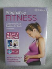 PREGNANCY FITNESS 2 DVD COLLECTION Parental Workout/Fit & Fab moms to Be GAIAM