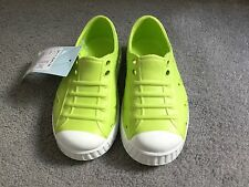 M&S BOYS GREEN PLASTIC WATER SHOES - SIZE 7 FROM MARKS & SPENCER - BNWT