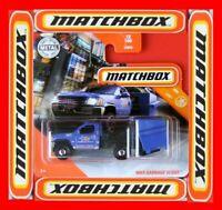 MATCHBOX 2020   MBX GARBAGE SCOUT   10 /100   NEU&OVP