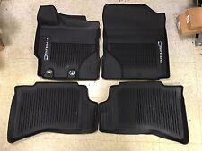 2016-2017 Toyota Prius C 4PC OEM All Weather Floor Liners Mats PT206-52160-02