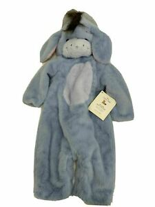 Eeyore Baby Costume 0-6 Months Pottery Barn Kids Disney Winnie the Pooh NEW -$69