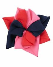 New Gymboree Girls Hair Barrette Accessory Snap Clips Holiday Red Bows 4 Pack