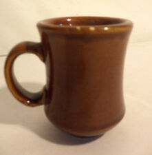 "'LOT' of 15 NEW Brown Crestware Restaurant Coffee Mugs, 4"" High 2.75"" Wide"
