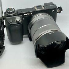 Sony Alpha NEX-6 16.1MP Digital Camera- Black with Silver 18-55mm f3.5-5.6 OSS