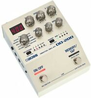 BOSS DD-200 DIGITAL DELAY Guitar Effects Pedal With Tracking NEW From Japan