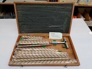 Brand New, Original, Mint Condition Mitutoyo Depth Micrometer, Model 129-150