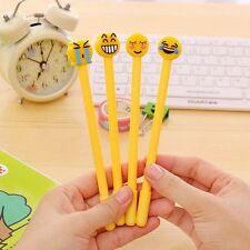 Emoticon Supply Escolar Gel Writing School Pen Papelaria Gift