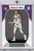 2020-2021 NBA Hoops Tyrese Haliburton RC Base Rookie Card Sacramento Kings
