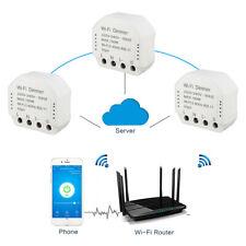 UK Wireless Smart WiFi Light LED Dimmer Power Switch Module Remote Controller