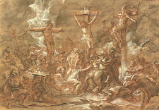 Antoine Coypel Reproduction: The Crucifixion - Fine Art Print