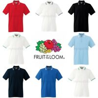 Fruit of the Loom Tipped Polo Shirt
