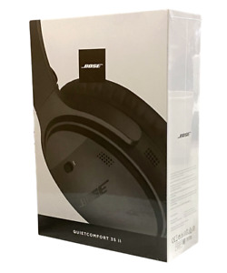 Bose QC35II QuietComfort 35 Series II Wireless Noise-Cancelling Headphones Black