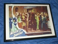 HOUSE OF DRACULA Universal Studios Theme Park Ride Prop Poster (Monsters/Movie)