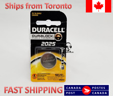 Cell Watch Battery Duracell Dl2025 3Vlithium Coin