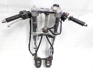 02 03 YAMAHA YZF R1 YZFR1 CHROME FRONT FORKS SUSPENSION & CALIPERS SET 2002 2003