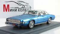 Scale model car 1:43 FORD Thunderbird Landau Turqoise Metallic 1969