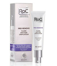 ROC PRO RENOVE FLUIDE ANTI AGE UNIFICATEUR ANTI RIDES ANTI TACHES  VAL 36€