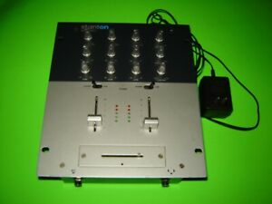 STANTON SMX-201 2-Channel Preamp Pro DJ Mixer Audiophile, SMX.201, with Adapter