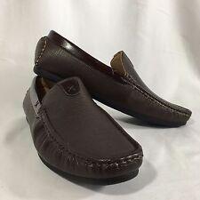 Men's Franco Vanucci Brand Brown Slip On Shoes Size 13 New
