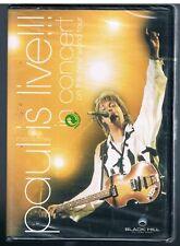 PAUL McCARTNEY PAUL IS LIVE CONCERT ON THE NEW WORLD DVD BEATLES NUOVO SIGILLATO