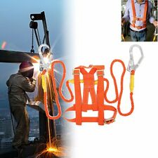Work at Height Climb Roofing Roofers Fall Arrest Safety Harness Protection Belt