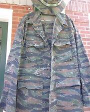 Propper International Camo Camouflage Combat Large COAT + M/L Cargo PANTS + HAT