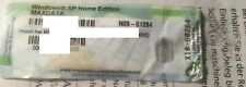 Windows XP Home Edition-serial key-OEM Label Maxdata - 30