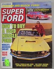 Super Ford April 1988 Mustang Shelby GT-350 Falcon Sprint Deuce Highboy Galaxie