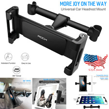 For Phone Tablet PC iPad Mini 360° Rotating Car Seat Headrest Mount Holder Stand