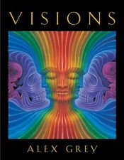 Visions by Alex Grey (2003, In wooden box, signed book with 5 signed paintings)