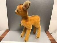 Hermann Stofftier Bambi 22 cm. Mit Etikett. Unbespielt. Top Zustand.