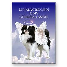 JAPANESE CHIN Guardian Angel FRIDGE MAGNET New DOG