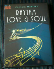 """R&B SOUL with """"RHYTHM LOVE AND SOUL plus MORE (2 Disc DVD Set)"""