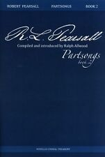 Robert Pearsall Partsongs - Book 2 Learn to Sing Vocal Choral Voice Music Book