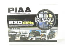 PIAA 520 Series Plasma Ion Yellow Halogen Round Driving Lamp Kit Fog Lights 5291