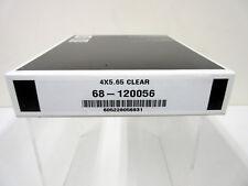 """New Schneider 4x5.65"""" Clear Optical Flat Glass Filter MFR # 68-120056"""
