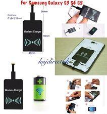 Qi Inalámbrico Cargador Pad de receptor de carga para Samsung Galaxy S3, S4, S5, S6, S7 Edge