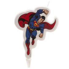 SUPERMAN Novelty Birthday Cake Candle Candles Super Hero DeKora