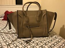 RARE - LARGE CELINE LUGGAGE PHANTOM Nude