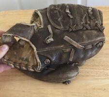 Johnny Walker Baseball Mitt Glove Vintage Right Handed Leather