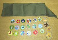 Boy Scouts BSA | Merit Badge Sash 18 Badges 4 Rank Patches