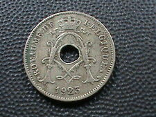 BELGIUM    10  Centimes    1923    FRENCH  $ 2.99 maximum shipping in USA  !