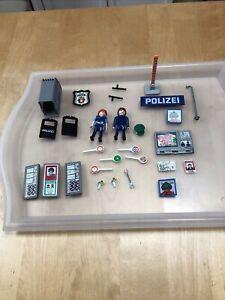 Playmobil Polizei  Zubehör Figuren Reste  Ersatzteil
