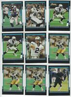 (19)ct 2001 BOWMAN FOOTBALL ROOKIE CARD RC LOT!